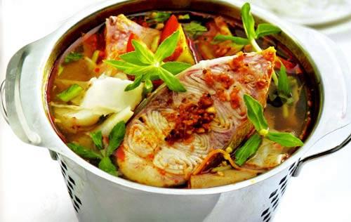 Cách chế biến cá tầm nấu măng chua