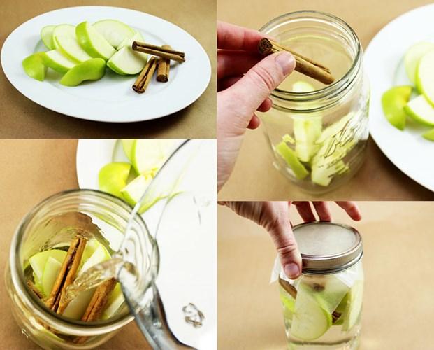 detox táo và quế