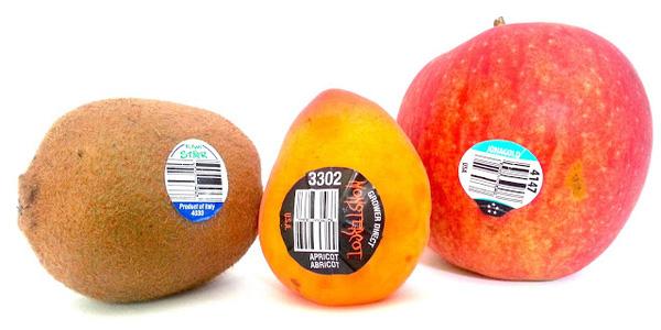Ý nghĩa của các con số trên tem dán hoa quả nhập khẩu