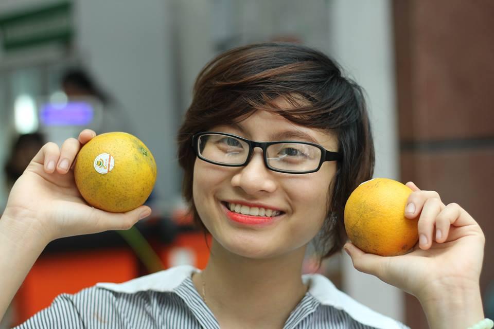 Mua cam vinh ở CleverFood Hà Nội