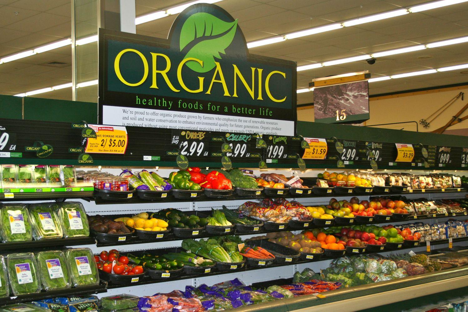 Cửa hàng thực phẩm hữu cơ