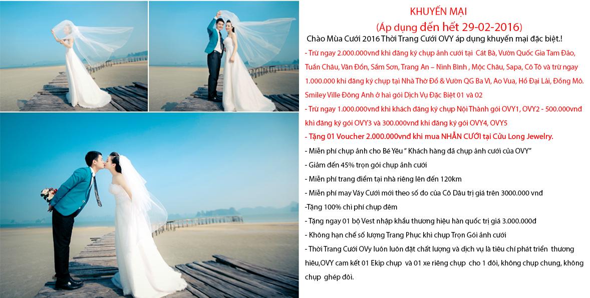 Chụp ảnh cưới đẹp ở Hà Nội với ảnh viện áo cưới OVY