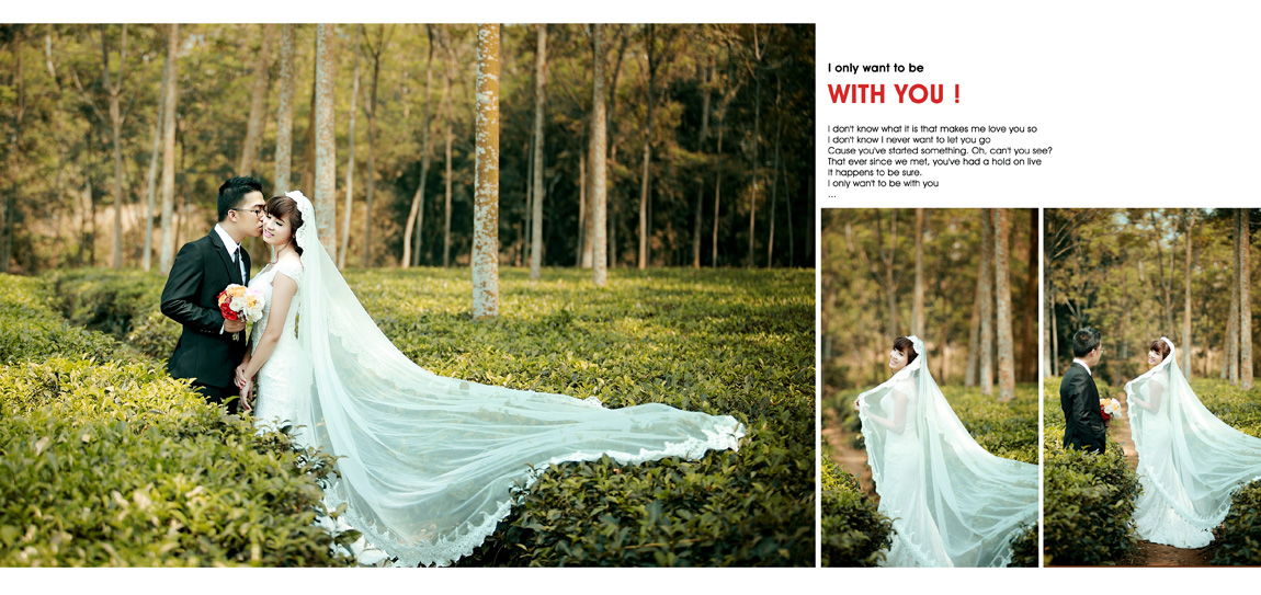 Cách tân áo cưới để chụp ảnh cưới đẹp hơn