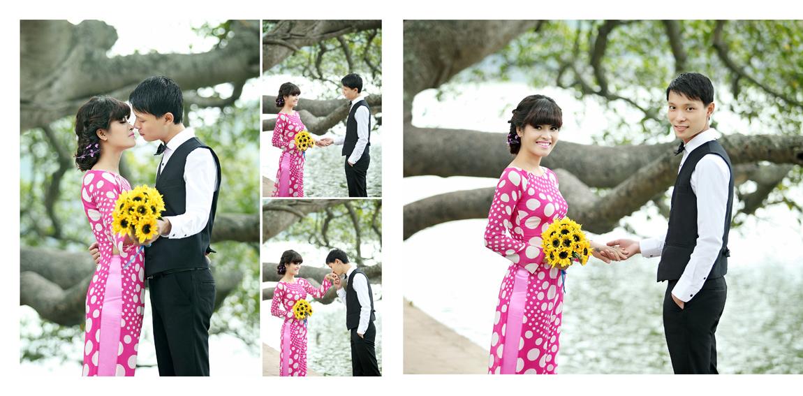 3 kiểu trang phục hoàn hảo cho cô dâu- chú rể