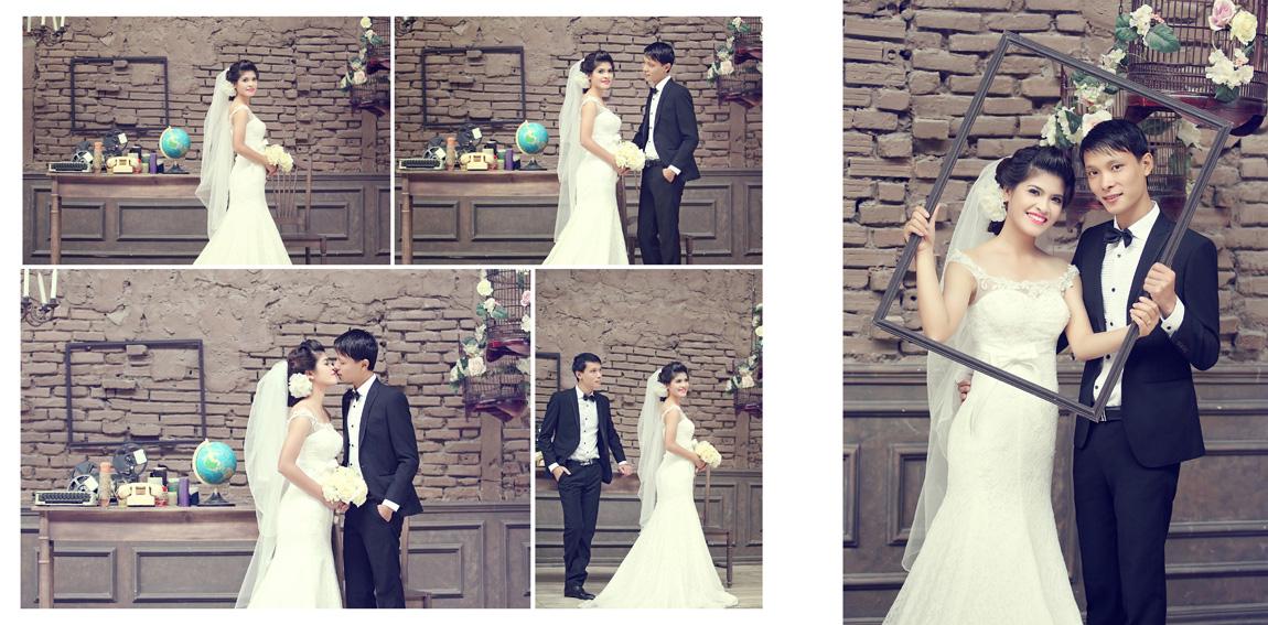 Cách tạo sự khác biệt khi chụp ảnh cưới trong phim trường?
