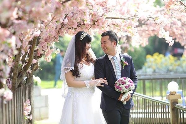 Chụp ảnh cưới cho cô dâu mập