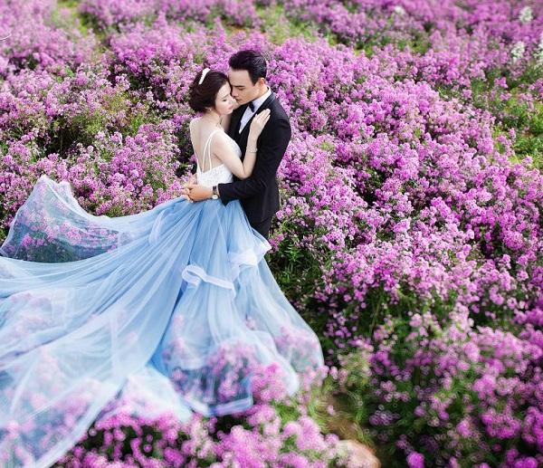 Chụp ảnh cưới lý tưởng tại Hà Nội với phim trường Thảo Nguyên Hoa