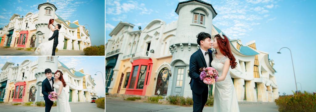 Chụp ảnh cưới ngày hè không còn có mồ hôi 1