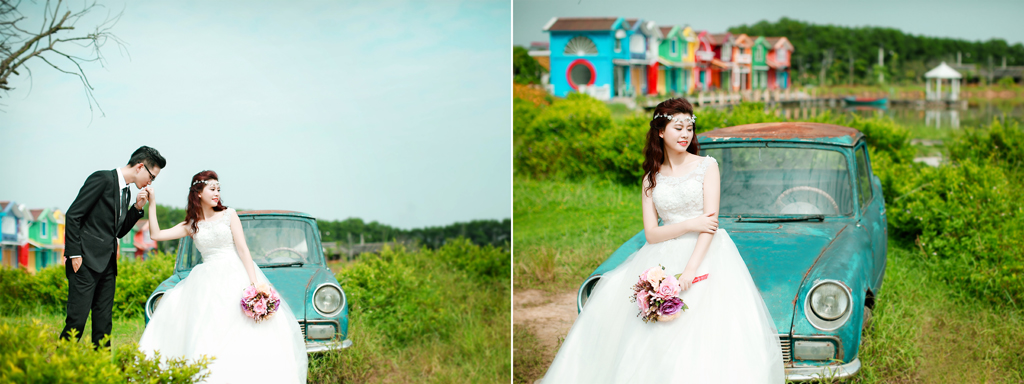 Thay đổi mọi góc nhìn để có thể chụp ảnh cưới đẹp