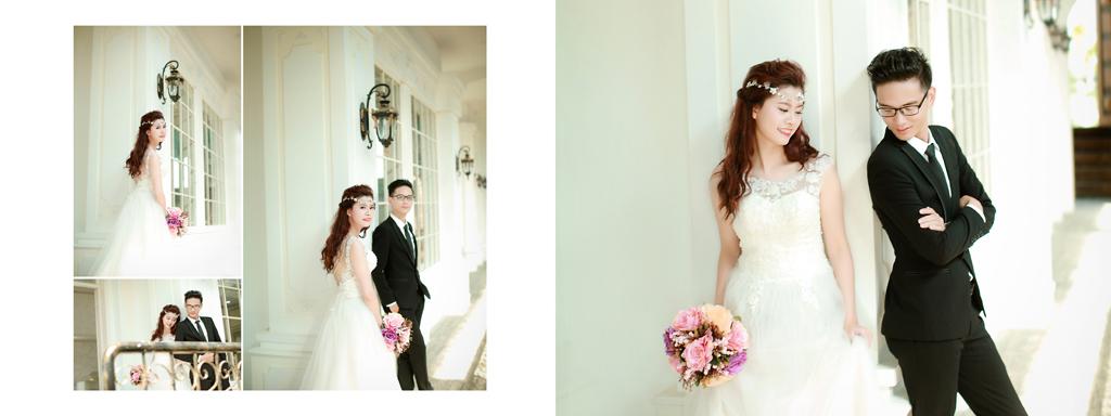 Chụp ảnh cưới ở Hà Nội theo phong cách Hàn Quốc