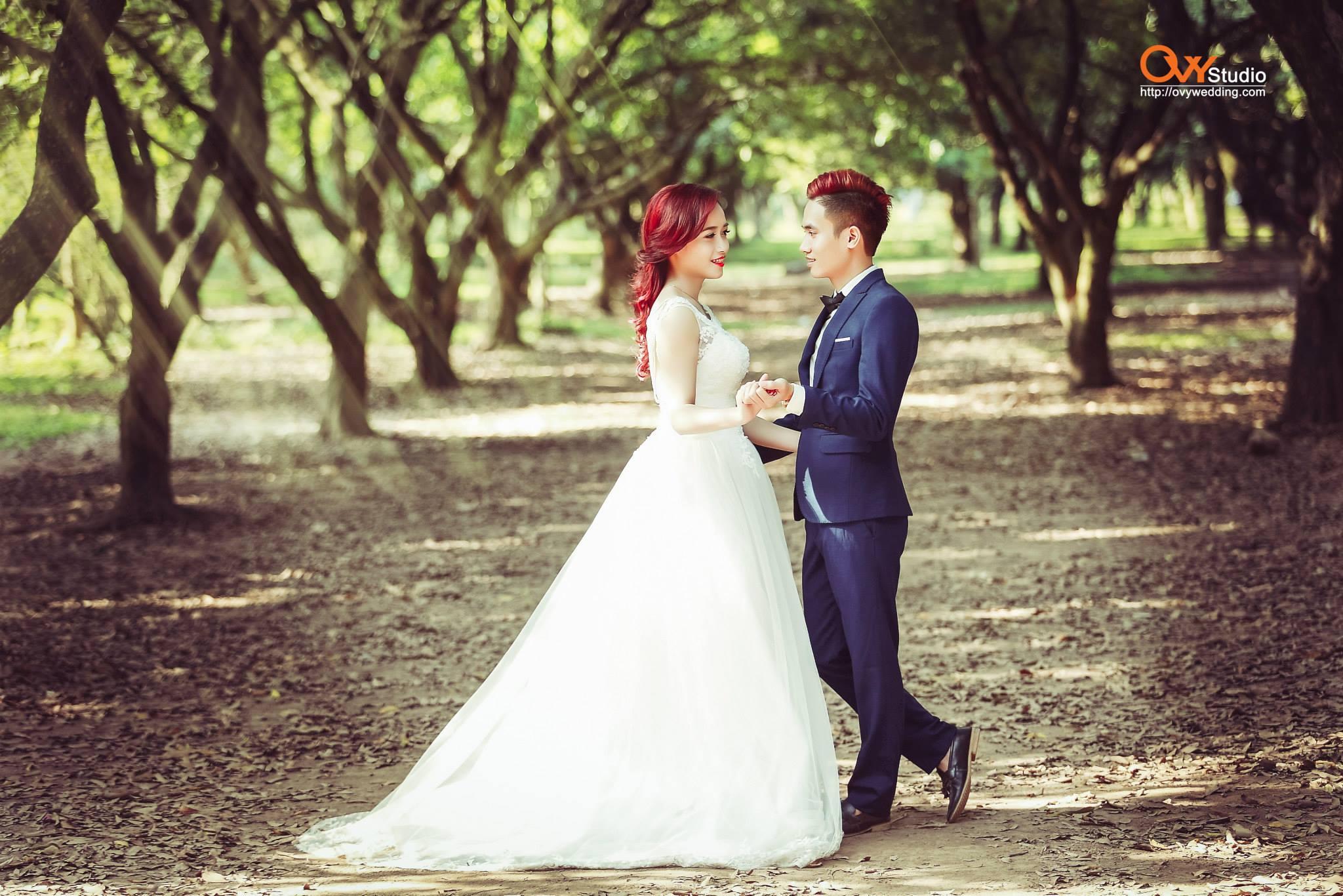 Chụp ảnh cưới theo nhân vật hoạt hình