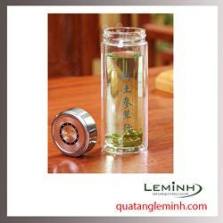 Cốc giữ nhiệt thủy tinh cao cấp - LMCGN001