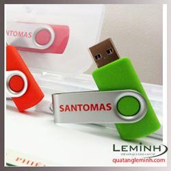 USB Kim loại xoay - Khách hàng Santomas