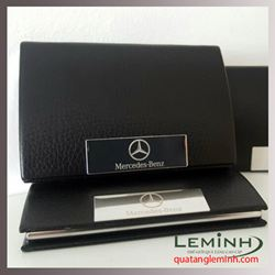 Hộp Namecard da sần cao câp - KH Mercedes Benz