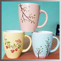 Cốc sứ Hàn Quốc Pastel Mug Cup  AC