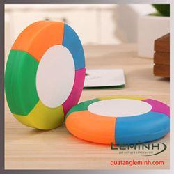 Bút nhớ dòng 5 màu hình tròn