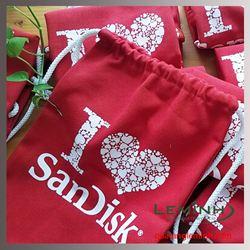 Balo dây rút vải bố - KH Sandisk