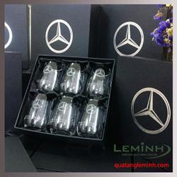 Bộ giftset 6 ly thủy tinh - KH Haxaco Mercedes- Benz