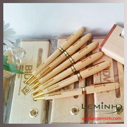 Bộ bút gỗ quà tặng - KH BIDV CN Phú Quốc