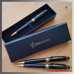 Bộ bút kí kim loại khắc logo - GLN/Yolo English Center