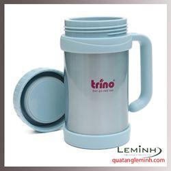Bình giữ nhiệt Trino có tay cầm 500ml - Màu thiên thanh