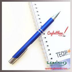 Bút kim loại 001 màu xanh dương - hàng có sẵn