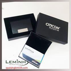 Hộp namecard da sần cao cấp - Citicom