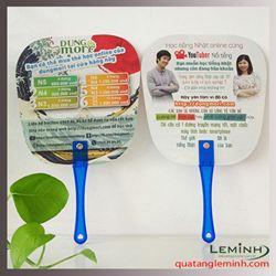 Quạt nhựa quảng cáo - Nhật ngữ Dungmori
