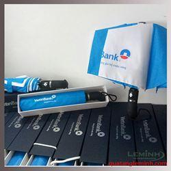 Ô gấp 3 tự động 2 chiều cao cấp - Viettin bank