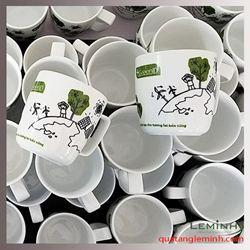 Cốc sứ Minh Long in logo - Idgreen