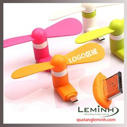 Quạt mini USB dùng cho điện thoại, máy tính, pin sạc