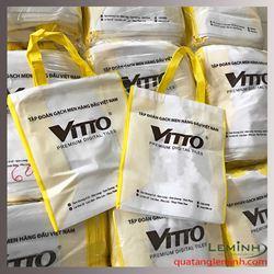 Túi vải không dệt quảng cáo in logo - Vitto