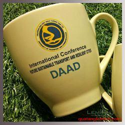 Ly Sứ Hàn Quốc Pastel Mug Cup - KH Trường ĐH Giao Thông Vận Tải