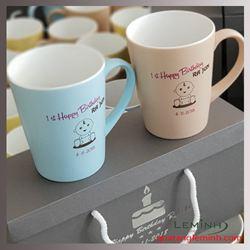 Ly Sứ Hàn Quốc Pastel Mug Cup - KH Rajun