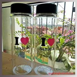 Bình  Đựng Nước Nhựa Mybottle In Logo - KH Sandisk