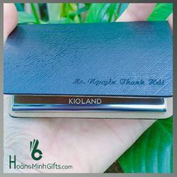 Hộp Namecard Cao Cấp Khắc Logo - Kh Kioland