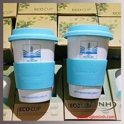 Cốc sứ Hàn Quốc Eco Cup - Trường Nguyễn Siêu