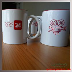 Cốc Sứ Minh Long In Logo - KH VTV24