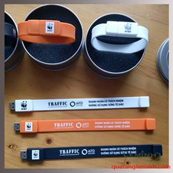 USB Vòng In Logo - KH Quỹ Quốc Tế Bảo Vệ Thiên Nhiên( WWF)
