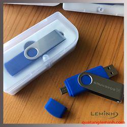 USB Kim Loại Xoay In Logo -  KH Grundfos