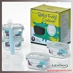 Bộ Baby Food Contoiner Glasslock 633