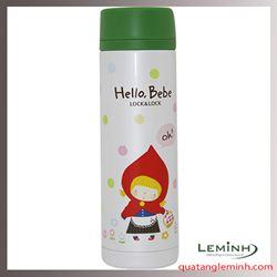 Bình Giữ Nhiệt Hello Bebe Hình Bông Tuyết Lock&Lock HBB319 (330ml)
