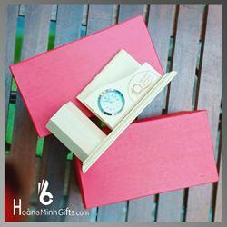 Đồng hồ để bàn kết hợp ống cắm bút - KH Việt Phong