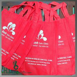 Túi Vải Không Dệt In Quảng Cáo - Kh Dr Bình Tele_Clinic