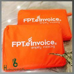 Áo Mưa Quảng Cáo Siêu Nhẹ In Logo - Kh FPT Einvoice