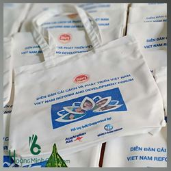 Túi Vải Bố Xách Tay Thời Trang - Kh World Bank