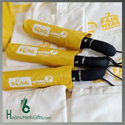 Ô Gấp 3 tự động 1 chiều cao cấp & Túi vải   - KH Oxfarm