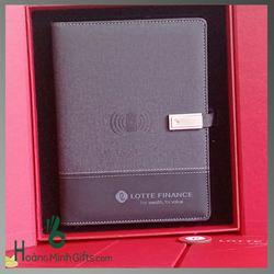 Bộ Gift Sổ Sạc Đa Năng Cao Cấp - KH Lotte Finance