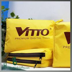 Áo mưa quảng cáo vải dù siêu nhẹ - KH Vitto