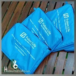 Áo mưa cánh dơi in logo - KH Fubon Life